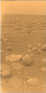 Huygen\'s view of Titan