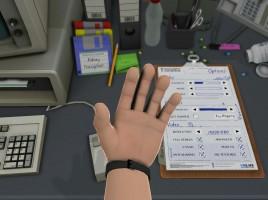 Nigel trägt niemals Handschuhe. Dafür eine schicke 80er Jahre Digitaluhr, welche die Realzeit anzeigt.